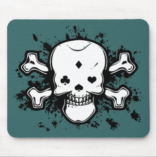 Poker Face Mouse Pad