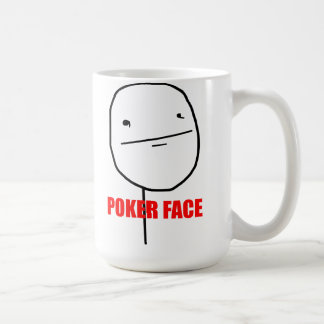 Poker Face - Mug