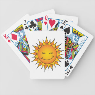 Poker Face Bicycle Playing Cards