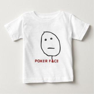Poker Face Rage Comic Baby T-Shirt