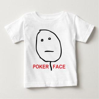 Poker Face Rage Face Meme Baby T-Shirt