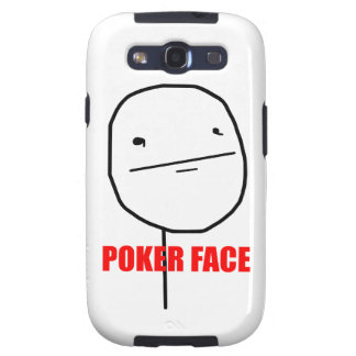Poker Face - Samsung Galaxy S Case Galaxy S3 Covers