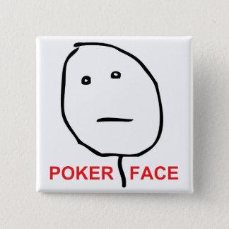 Poker Face (text) Button