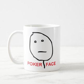 Poker Face (text) Coffee Mug
