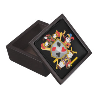 Poker Family Crest Jewelry Box