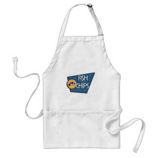 Poker - Fish & Chips Adult Apron