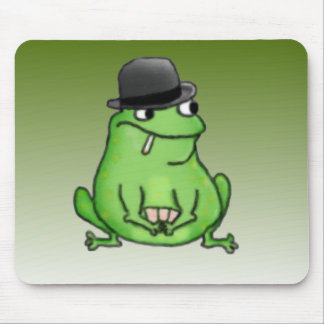 Poker Frog Mouse Pad