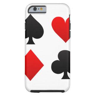 póker funda de iPhone 6 tough
