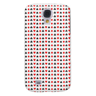Poker game cards symbols galaxy s4 cover