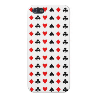 Poker game cards symbols cover for iPhone SE/5/5s