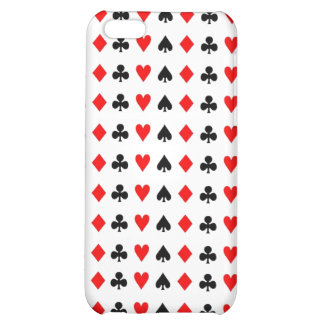 Poker game cards symbols case for iPhone 5C