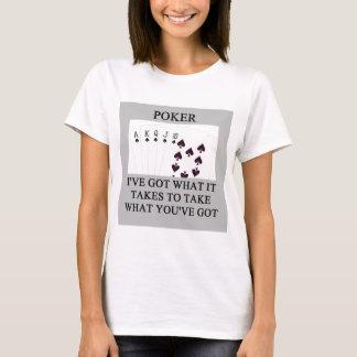 poker game player joke T-Shirt