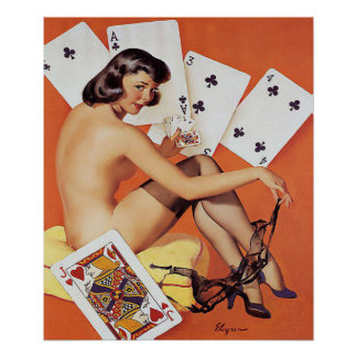poker,gaming,pin up girls, pin up,pinups poster