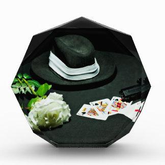 Poker gangster gun rose award
