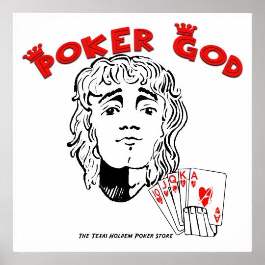 Poker God! Poster