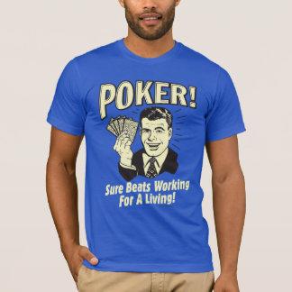 Póker: Golpes que trabajan para una vida Playera