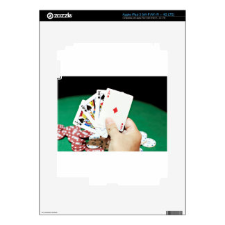 Poker good hand decals for iPad 3