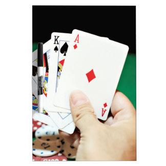 Poker good hand Dry-Erase board