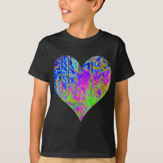 Poker Graffiti Heart T-Shirt