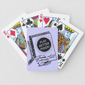 Poker Guide Bicycle Playing Cards
