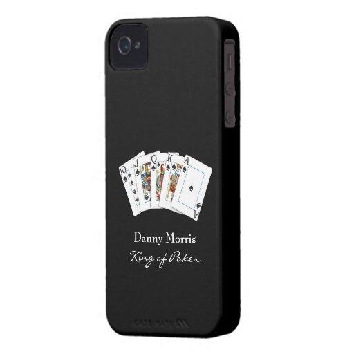 Poker Hand iPhone 4 ID Case-Mate Case-Mate iPhone 4 Case