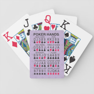 Poker Hands Bicycle Playing Cards