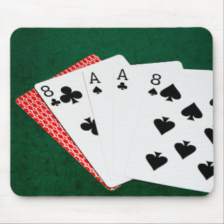 Poker Hands - Dead Man's Hand Mouse Pad