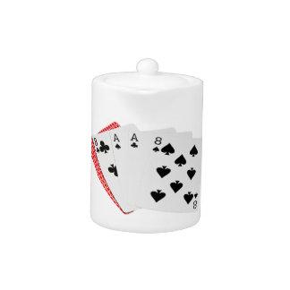 Poker Hands - Dead Man's Hand Teapot