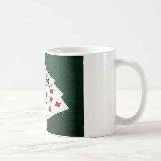 Poker Hands - Four Of A Kind - Nines and Eight Coffee Mug