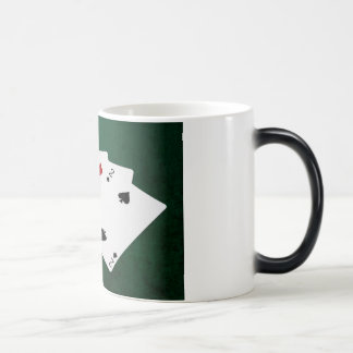 Poker Hands - Four Of A Kind - Sevens and Two Magic Mug