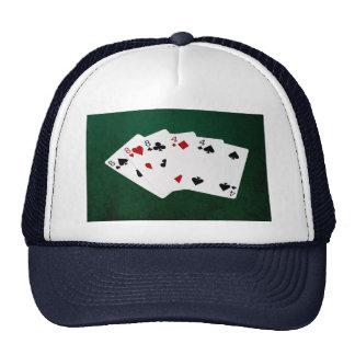 Poker Hands - Full House - Eight and Four Trucker Hat