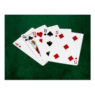 Poker Hands - High Card - Ace