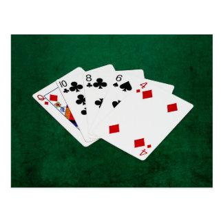 Poker Hands - High Card - Queen