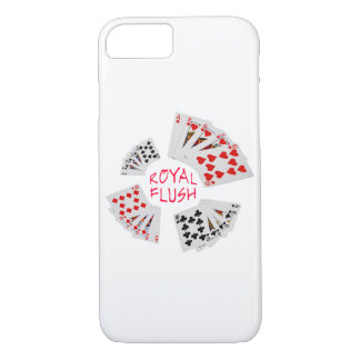 Poker Hands - Royal Flush iPhone 7 Case