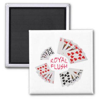 Poker Hands - Royal Flush Magnet
