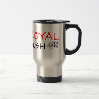 Poker Hands - Royal Flush Travel Mug