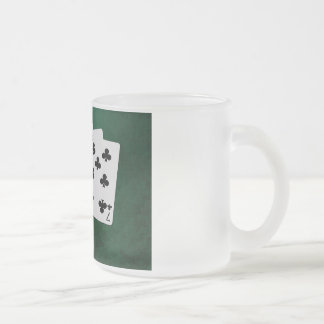 Poker Hands - Straight Flush - Clubs Suit Coffee Mugs