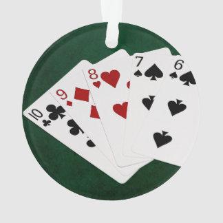 Poker Hands - Straight - Ten To Six