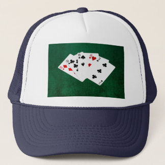 Poker Hands - Two Pair - Ten, Eight Trucker Hat