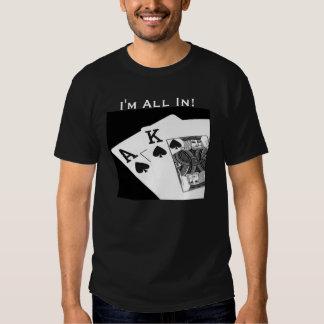 Poker I'm All In!  Texas Hold 'Em T-Shirt