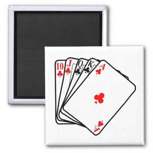 Póker Imán Cuadrado