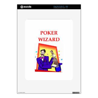poker iPad skin