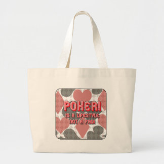 Poker is no Fad! Large Tote Bag