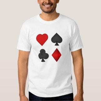 Póker: Juegos del naipe: Camiseta: Black Jack Camisas