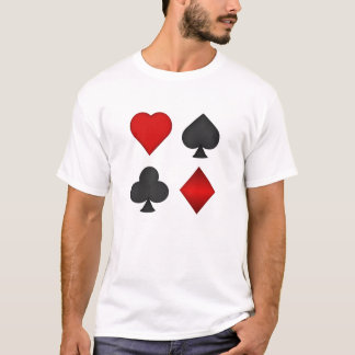 Póker: Juegos del naipe: Camiseta: Black Jack Playera