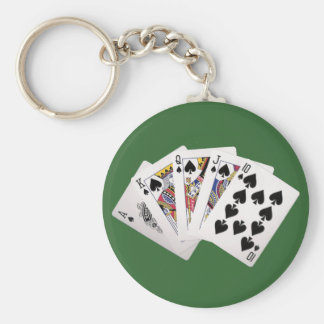 Poker Key Chain