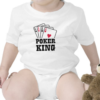 Poker king cards bodysuit