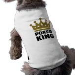 Poker king crown shirt