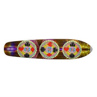 POKER KING  Symbols : SUPERcharged SuperSONIC Skateboard