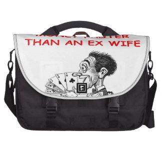 poker laptop commuter bag